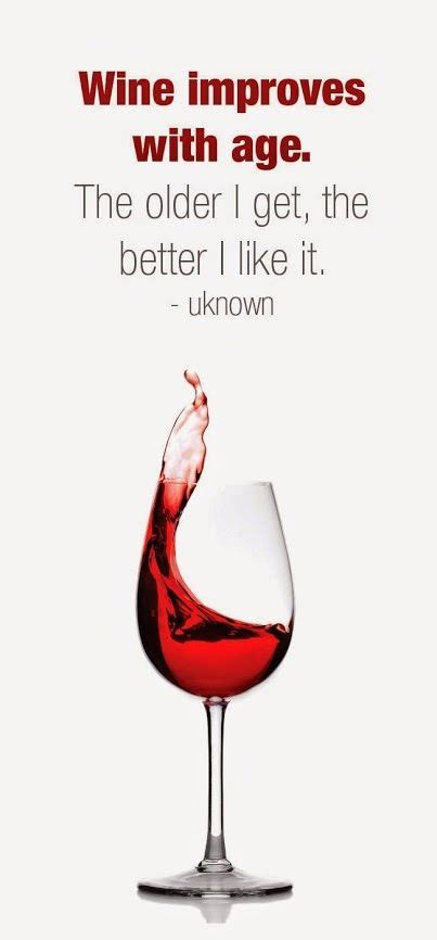 wine humor wine improves  age  older