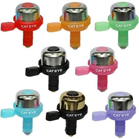 cateye pb 1000 wind bicycle bell 8 colors