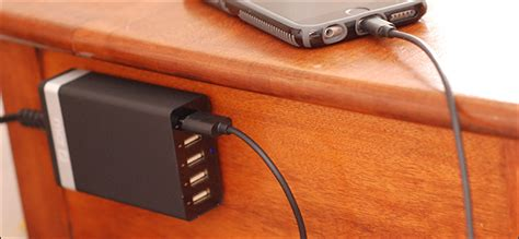 nightstand charging station the 6 best bedside charging how to add a charging station to your nightstand without