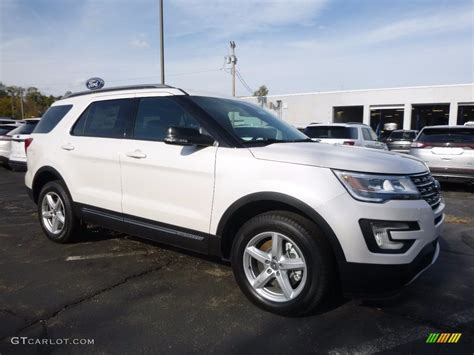 2017 ford explorer platinum 2017 white platinum ford explorer xlt 4wd 116757372