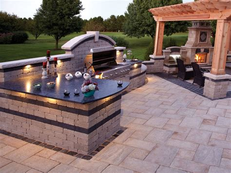 pergola backyard bbq designs design idea and decorations