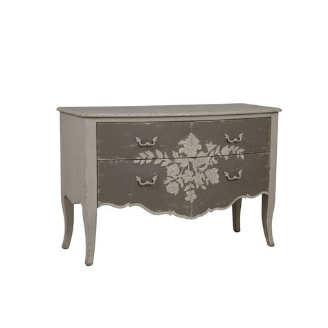 Interiors Commode by Commode 4 Tiroirs Gris Interior S