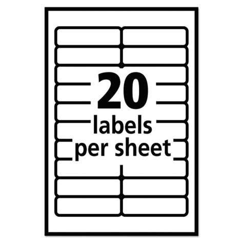Ave05422 Avery Removable Multi Use Labels Zuma Q Connect Labels 8 Per Sheet Template