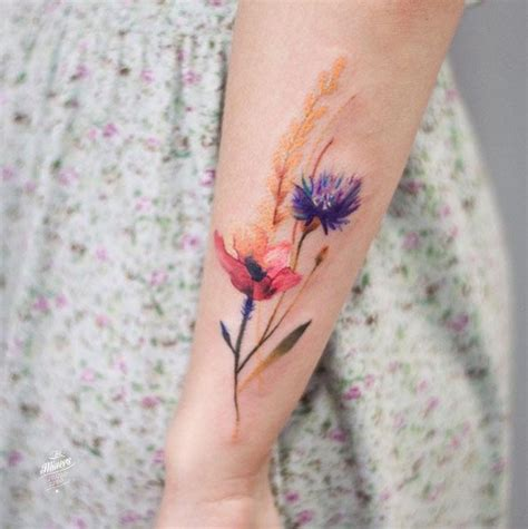 1000 ideas about small watercolor tattoo on pinterest 1000 ideas about vintage floral tattoos on pinterest