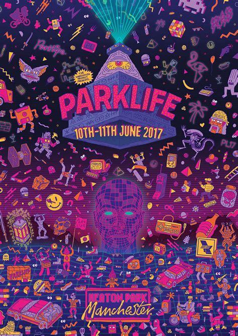 It's Nice That | Studio Moross creates 80s-inspired ... Parklife Graphics