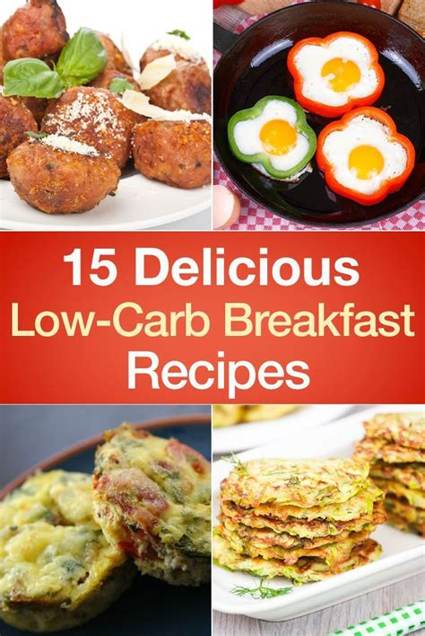 15 delicious low carb breakfast recipes