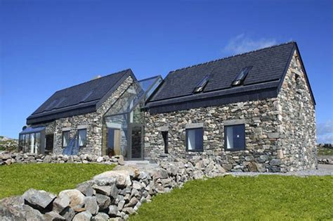 old stone highway house modern future forward design scandinavian modern stone bungalow google search