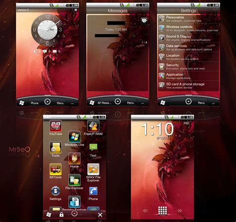 themes for android unite 2 android sense theme for windows mobile