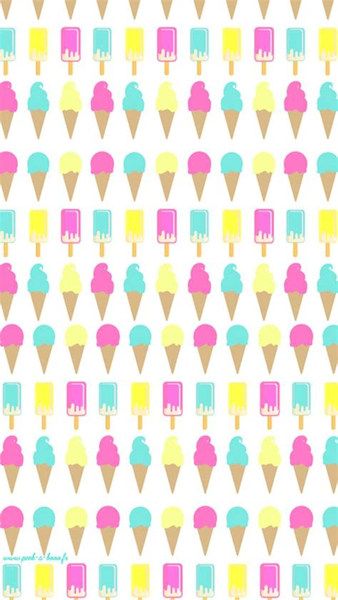 c find pattern ice cream cone pattern find more cute iphone android