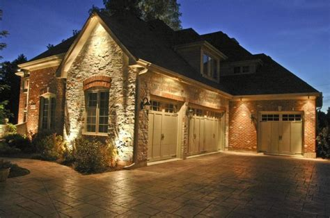 exterior house accent lighting 17 best ideas about garage lighting on tool