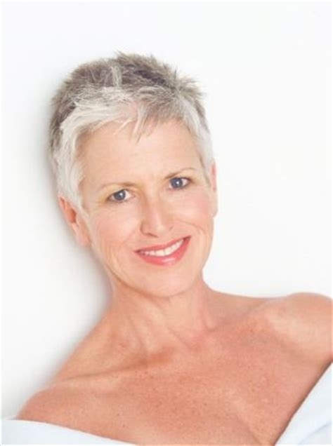 short chemo hair pam campbell grey hair silver hair gray hair grey hair