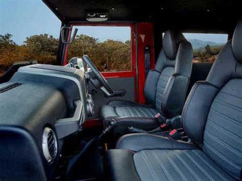 thar jeep interior mahindra thar disguised as a jeep wrangler drivespark