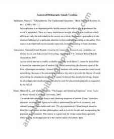Turabian Essay by Turabian Annotated Bibliography Annotated Bibliography Maker