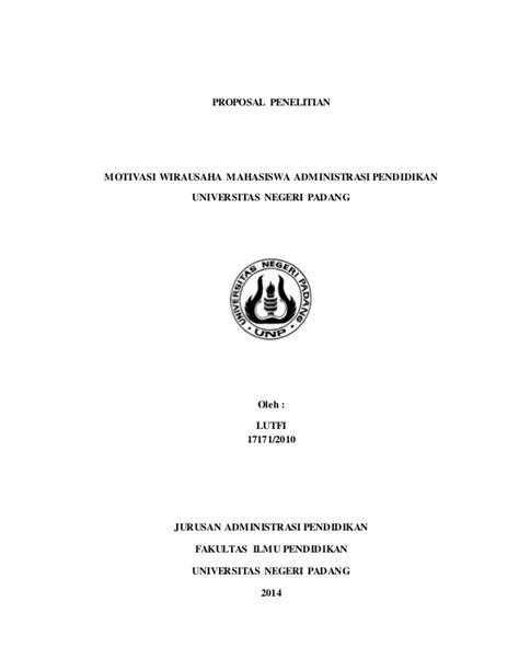 format proposal skripsi teknik sipil proposal penelitian motivasi wirausaha mahasiswa