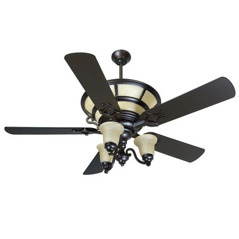 Craftmade Ha52ob Hathaway Ceiling Fan Oiled Bronze Ceiling Fan With Light