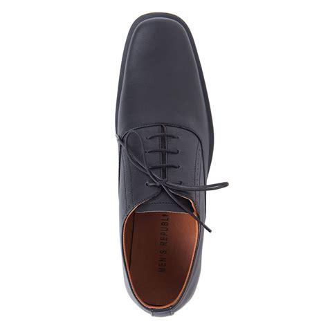 Sepatu Keren S Republic Sreda Shoes Black Sepatu Kulit s republic