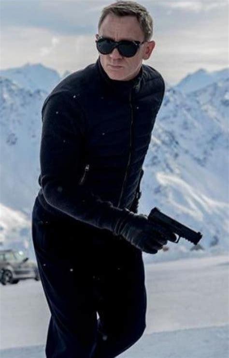 spectre film spectre 007 james bond black trendiest leather jacket