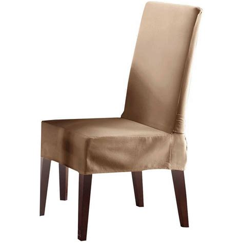 Sure Fit Dining Room Chair Covers Sure Fit Cotton Duck Dining Room Chair Slipcover Cocoa Sure Fit Cotton Duck Dining