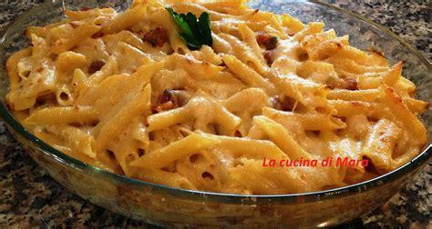 cucinare la pasta al forno pasta al forno con cavolfiore e salsiccia ricetta gustosa