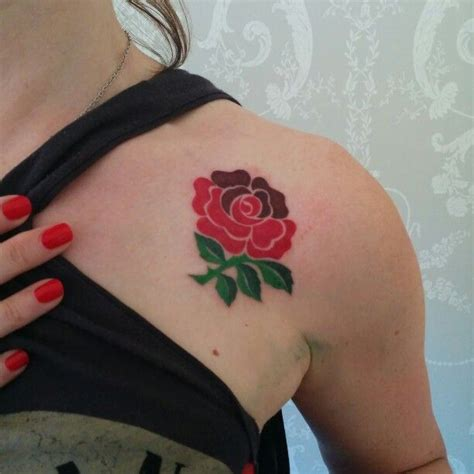 england rugby rose tattoo 18 best tattoos i want images on