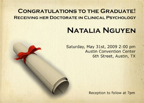 Wedding Announcement Sles by Sle College Graduation Invitations Wording