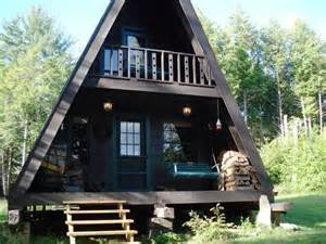 small a frame cabin plans a frame house c