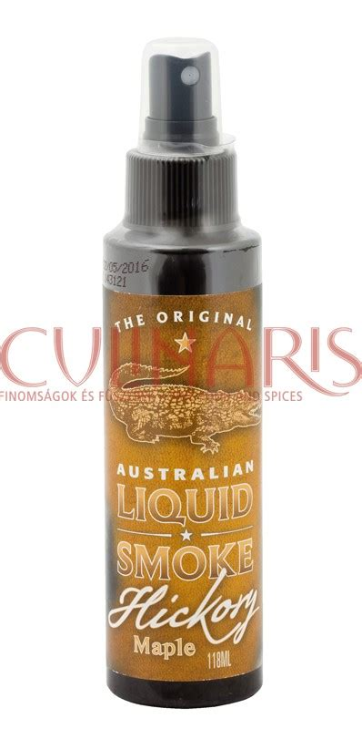 Liquid Crackers By Maple Drops The Original Australian Bbq Maple Hickory Liquid Smoke 118