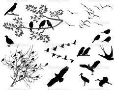 silhouette temporary tattoo paper uk fly bird fly template birds pinterest template bird