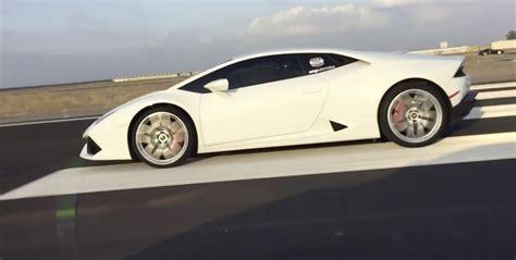 Lamborghini Quarter Mile Lamborghini Huracan Vs Mclaren Mp4 12c Drag Racing 1 4