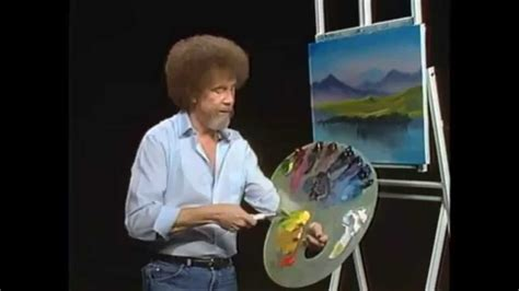 bob ross yellow painting bob ross the of painting instant reflections
