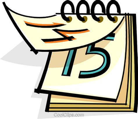 clipart calendario calend 225 livre de direitos vetores clip ilustra 231 227 o
