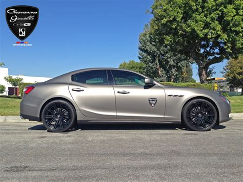 Black Wheels For Maserati Giovanna Luxury Wheels