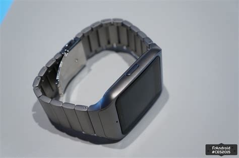 Sony Smartwatch 3 Metal sony smartwatch 3 en m 233 tal nous l avons vue frandroid
