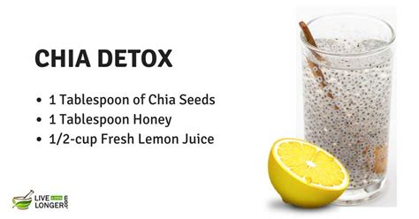 Chia Detox Water Benefits 21 best detox water recipes for weight loss cleansing in