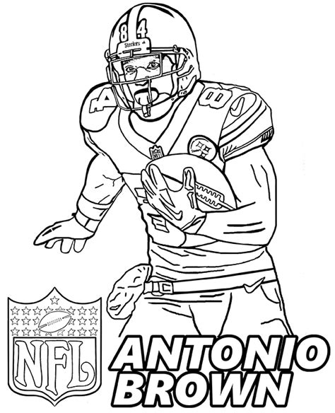 football guy coloring page american football player coloring pages by