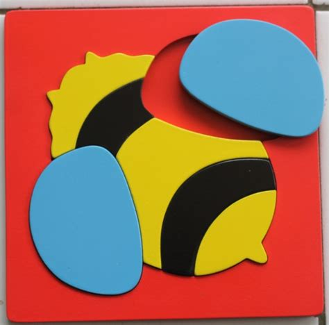 Mainan Kayu Edukatif Puzzle Cat 17 X 17 Cm Kura2 puzzle cat 17 215 17 cm lebah anugrah ilmu
