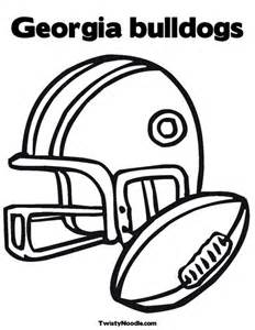 Georgia Bulldogs Coloring Pages Coloring Pages