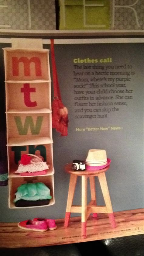 organize clothes how to organize clothes for the week for kids love this