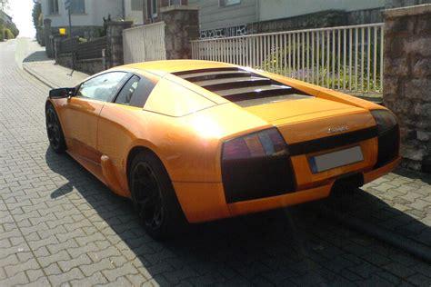 Orange Lamborghini Murcielago Orange Lamborghini Murcielago
