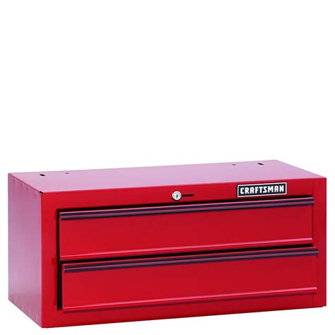 Craftsman 2 Drawer Tool Box by Craftsman 26 In Wide 2 Drawer Homeowner Middle Chest