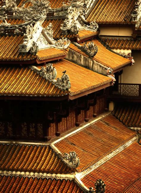 Tuile Ancienne by Architecture Ancienne Chinoise Toit De Tuiles Terre