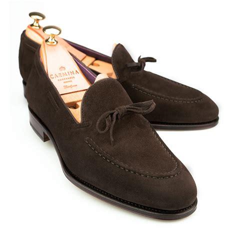 carmina string loafer carmina uetam brown suede string loafer 80228 bnib 8