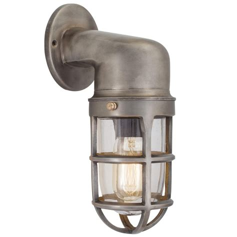 Industrial Wall Sconce Lighting Industville Vintage Industrial Style Cage Retro Bulkhead Sconce Wall Light Lighting From