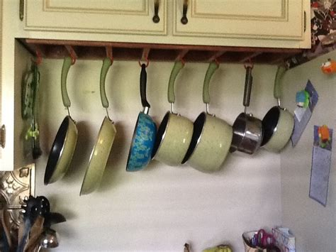 kitchen pot rack ideas pot and pan drawer organizer image7 jpg projects to