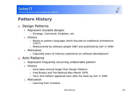 singleton pattern history high performance mysql