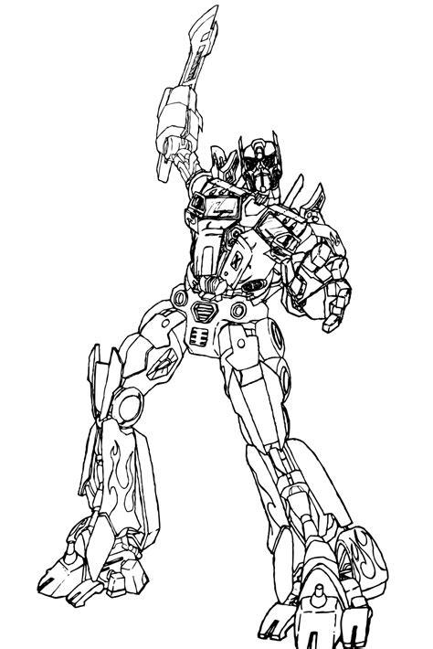 transformers movie coloring page transformer optimus prime coloring pages coloring home