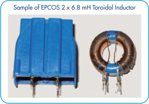 application of toroid inductor emcos