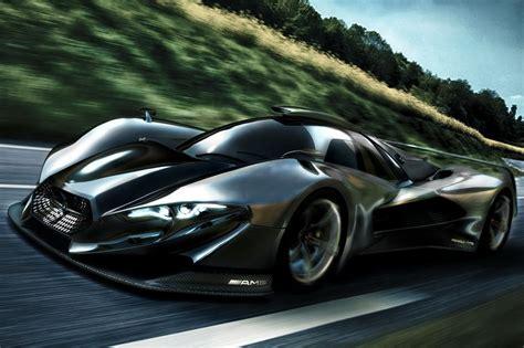 mercedes supercar concept the mercedes benz sl gtr concept a designers fantasy