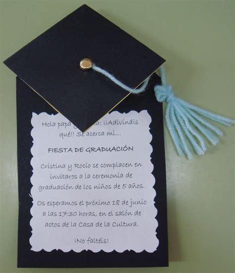invitacion de graduacion en espanol plastificando ilusiones invitaci 243 n graduaci 243 n