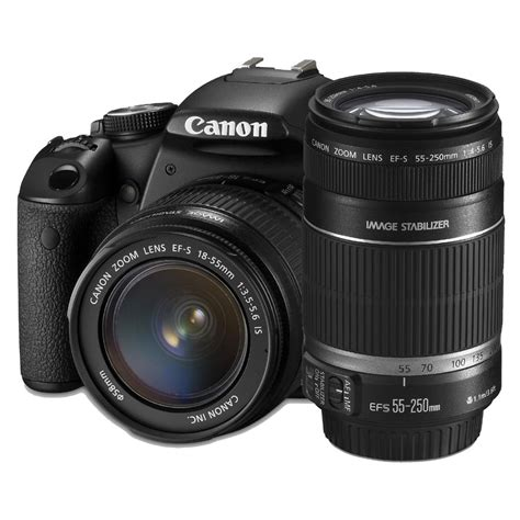 Canon 550d Kit 18 55mm Efek canon eos 550d digital slr with 18 55mm is ii lens and 55 250 is lens kit dslr cameras